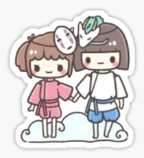 Spirited Away - Studio Ghibli Sticker