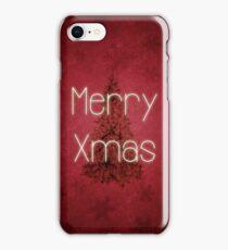 Merry Christmas Tree iPhone Case/Skin