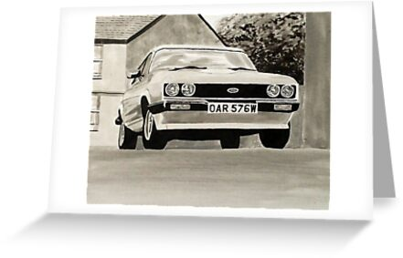 'The Professionals' Mk.3 Ford Capri 3.0s by sidfox