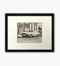 'The Sweeney' Mk.2 Ford Granada 2.8iS Framed Print