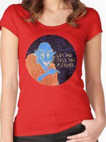The Demon Storyteller Women's Fitted Scoop T-Shirt