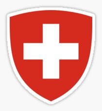 Coat of Arms of Switzerland  Sticker