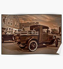 1929 Ford Model A Pickup Truck Poster