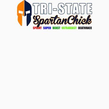 Tri-State Spartan Chick orange/blue by CertainDeath
