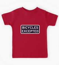Bicycles Excepted Kids Clothes