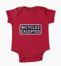 Bicycles Excepted One Piece - Short Sleeve