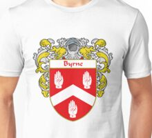 Byrne Coat of Arms/Family Crest Unisex T-Shirt