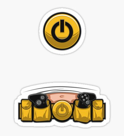 Super Geek Utility Belt Sticker