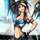 Rainbow Crash! by AngelTripStudio