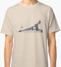 I Fell Tower Classic T-Shirt