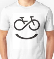 Forever Smiling while Riding T-Shirt