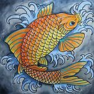 koi fish by Vin  Zzep