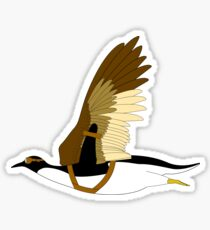 Penguins Can't Fly Sticker