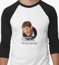 G'day mate! Men's Baseball ¾ T-Shirt