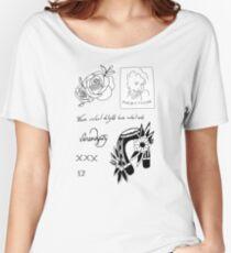 Halsey Tattoos Women's Relaxed Fit T-Shirt