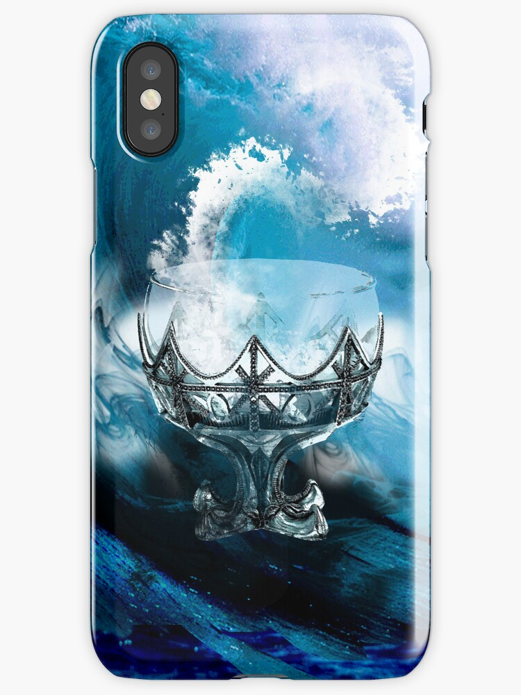Ace of Cups Phone Case by AngelTripStudio