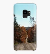 Northern Ontario country lane Case/Skin for Samsung Galaxy