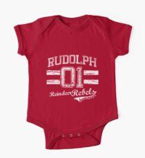 Rudolph Reindeer Rebel One Piece - Short Sleeve