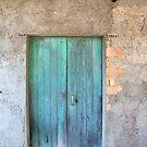 aqua door in the village of st tedorio, calabria by Vin  Zzep