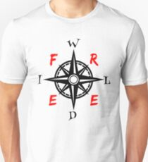 Wild And Free Compass T-Shirt