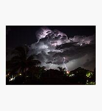 Gladstone Thunderstorm Photographic Print