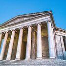 Jefferson Memorial Sunset by Raymond Warren