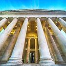 Jefferson Memorial by Raymond Warren