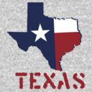 texas state flag by peteroxcliffe