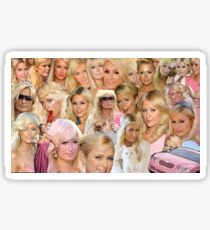 paris hilton Sticker
