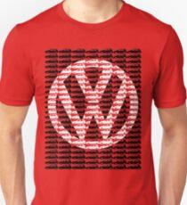 VW Golf White Golf Logo with Black Golf Mk1-Mk7 T-Shirt
