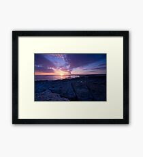 Ogmore by the sea Framed Print
