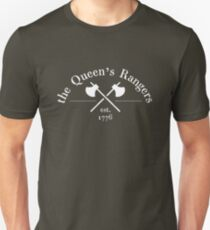 The Queen's Rangers (White) Unisex T-Shirt