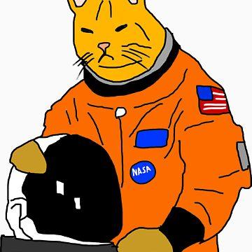 Space Cat by LarryScanlon