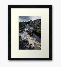 Grassington Falls Framed Print