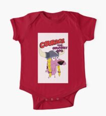 courage the cowardly dog Kids Clothes