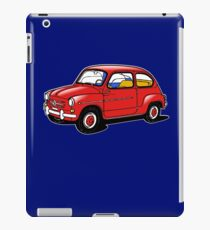 fiat 600 red iPad Case/Skin
