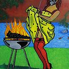 An Apocalyptic BBQ by azummo