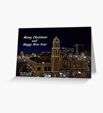Kansas City Plaza Lights Greeting Card