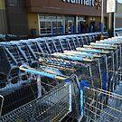 Walmart In The Snow by WildestArt