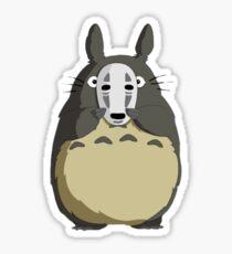 Totoro Mask Sticker
