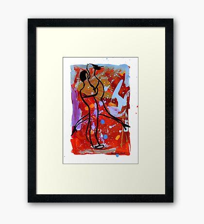 Tango 11 Framed Print
