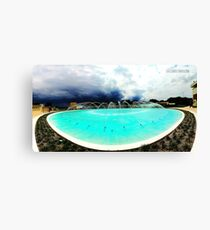 Frank Lloyd Wright Water Dome Canvas Print
