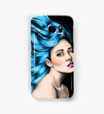 World on her Shoulders Samsung Galaxy Case/Skin