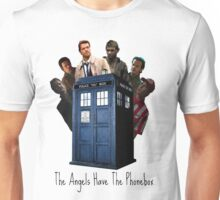 The Angels Have The Phonebox. Unisex T-Shirt