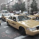new york taxi, near miss by Vin  Zzep