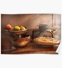 Food - Pie - Mama's peach pie Poster