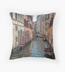 Venice, Italy. Throw Pillow
