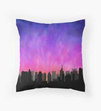 Cojín New York City Skyline Sunset