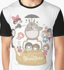 Studio Ghibli Friends Graphic T-Shirt