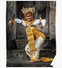 Legong Dancer Poster